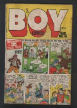 Old 1950. American Comic book BOY  #041